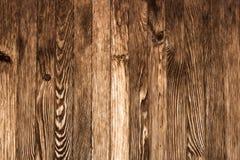 Parete delle plance di legno marroni - strutturi a fondo 6 Fotografia Stock