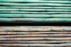 parete di à¸'Bamboo Fotografie Stock Libere da Diritti