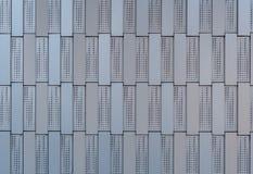 Parete di alluminio delle mattonelle Immagine Stock Libera da Diritti