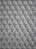 Parete di alluminio futuristica di alta tecnologia fotografia stock