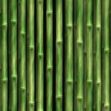 Parete di bambù Fotografie Stock