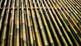 Parete di bambù fotografia stock libera da diritti