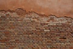 Parete di Bricked a Venezia Fotografie Stock