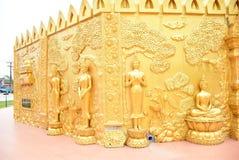 Parete di Buddha Immagini Stock Libere da Diritti