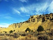 parete di canyon Fotografia Stock Libera da Diritti