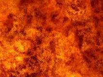 Parete di fuoco Immagini Stock