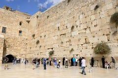 Parete di Gerusalemme Fotografie Stock Libere da Diritti