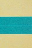 Parete di giallo e di verde per i precedenti Fotografia Stock Libera da Diritti