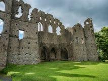 Parete di Jelous della casa di belvedere, Irlanda fotografia stock
