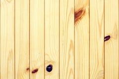 Parete di legname Fotografie Stock