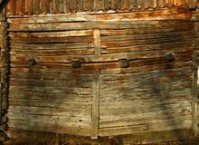 Parete di legname Immagini Stock Libere da Diritti
