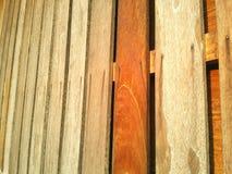 Parete di legni Fotografia Stock