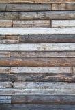 Parete di legno Immagine Stock