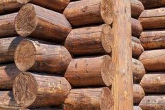 Parete di legno Fotografia Stock Libera da Diritti