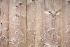 Parete di legno all'aperto non colorata, struttura Fotografia Stock Libera da Diritti