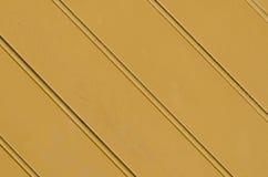 Parete di legno arancio Fotografie Stock Libere da Diritti