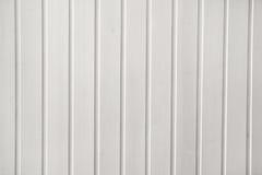 Parete di legno bianca Fotografie Stock