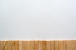 Parete di legno del blocco Fotografia Stock Libera da Diritti