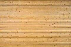 Parete di legno del pannello Fotografie Stock Libere da Diritti