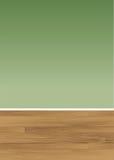 Parete di legno del pavimento Fotografia Stock Libera da Diritti