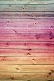 Parete di legno dell'annata Fotografia Stock Libera da Diritti