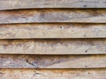 Parete di legno della casa Immagini Stock