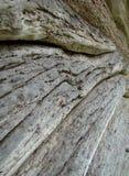 Parete di legno della casa di struttura Fotografia Stock