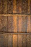 Parete di legno della palma di Palmyra Immagine Stock Libera da Diritti
