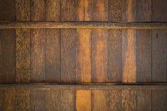 Parete di legno della palma di Palmyra Fotografia Stock