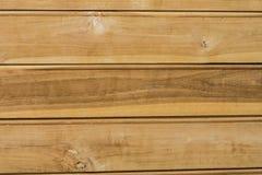 Parete di legno della plancia Fotografie Stock