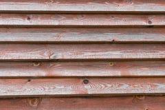 Parete di legno della plancia di Brown immagini stock libere da diritti