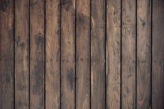 Parete di legno della plancia per fondo Fotografie Stock