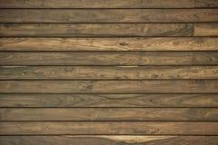 Parete di legno della plancia per fondo Immagini Stock Libere da Diritti