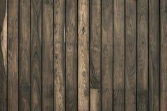 Parete di legno della plancia per fondo Immagine Stock Libera da Diritti