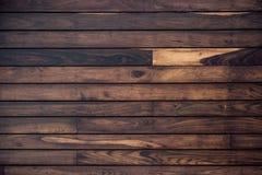 Parete di legno della plancia per fondo Immagine Stock