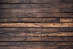 Parete di legno della plancia per fondo Fotografia Stock
