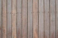 Parete di legno della stecca Fotografie Stock Libere da Diritti