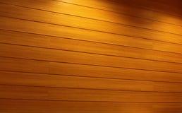 Parete di legno della striscia Fotografia Stock Libera da Diritti
