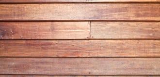 Parete di legno di una casa tailandese tradizionale Fotografia Stock Libera da Diritti