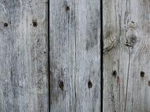 Parete di legno grigia Fotografie Stock Libere da Diritti