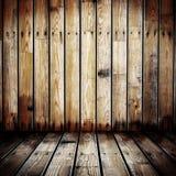 Parete di legno Grungy Immagini Stock