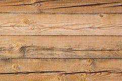 Parete di legno incrinata della barra Fotografia Stock Libera da Diritti