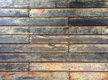 Parete di legno invecchiata delle mattonelle fotografie stock
