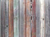Parete di legno marrone di vecchia struttura, fondo dettagliato fotografie stock