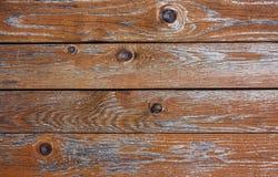 Parete di legno misera fotografia stock