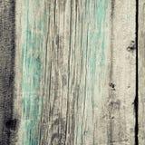 Parete di legno misera non dipinta Fotografia Stock
