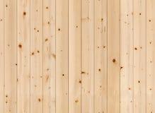 Parete di legno non colorata Struttura senza giunte Fotografia Stock