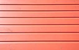 Parete di legno recentemente dipinta Fotografia Stock Libera da Diritti