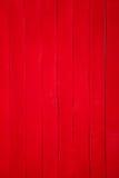 Parete di legno rossa fotografia stock