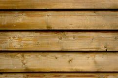 Parete di legno rustica Fotografie Stock